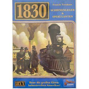 1830 Schienenleger & Spekulanten - Spieleklassiker von Lookout