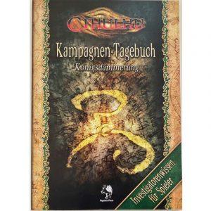 Cthulhu: Königsdämmerung Kampagnen-Tagebuch