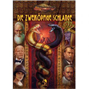 Cthulhu: Die zweiköpfige Schlange - Abenteuerkampagne Pulp Cthulhu