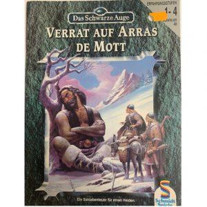 Das Schwarze Auge DSA Abenteuer 040 Verrat auf Arras de Motts DSA3 Soloabenteuer