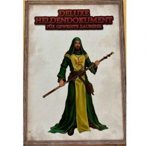 Das Schwarze Auge DSA Deluxe Heldendokument für geweihte Zauberer DSA5