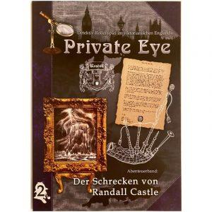 Private Eye: Der Schrecken von Randall Castle - AB 2 im viktorianischen England 1880s