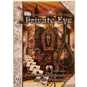 Private Eye: Die 7 Abschiedsbriefe des Mr. Pomeroy - Abenteuer 9 - England 1880s