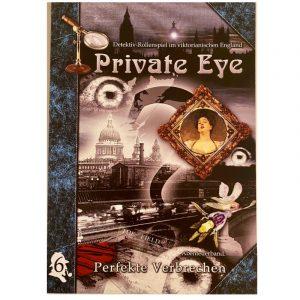 Private Eye: Perfekte Verbrechen -Abenteuer 6 im viktorianischen England 1880s