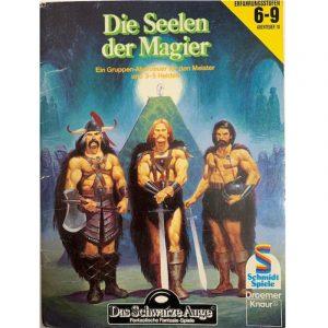 Das Schwarze Auge DSA Abenteuer 010 Die Seelen der Magier DSA2 Gruppenabenteuer