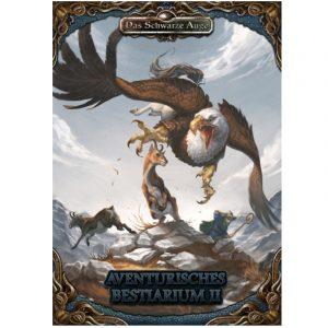 Das Schwarze Auge DSA5 Aventurisches Bestiarium 2 Hardcover - Spielhilfe und Quellenband