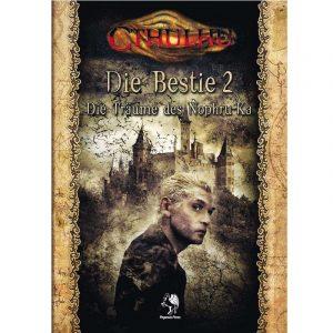 Cthulhu: Die Bestie 2 - Die Träume des Nophru-Ka - Gruppenabenteuer Abenteuerkampagne