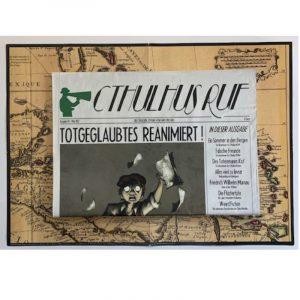Cthulhu: Cthulhus Ruf Ausgabe 01 vom Mai 2012 - Cthuloide Zeitung von Fans für Fans