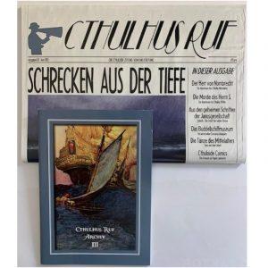 Cthulhu: Cthulhus Ruf Ausgabe 03 vom Juni 2013 - Cthuloide Zeitung von Fans für Fans