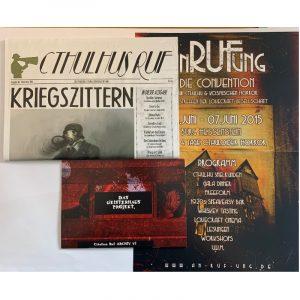 Cthulhu: Cthulhus Ruf Ausgabe 06 vom November 2014 - Cthuloide Zeitung von Fans für Fans