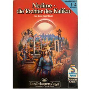 Das Schwarze Auge DSA Abenteuer 005 Nedime - die Tochter des Kalifen DSA1 Soloabenteuer
