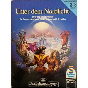 Das Schwarze Auge DSA Abenteuer 006 Unter dem Nordlicht DSA1 Gruppenabenteuer