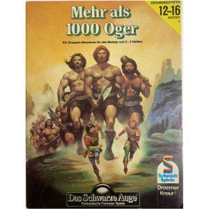 Das Schwarze Auge DSA Abenteuer 009 Mehr als 1000 Oger DSA2