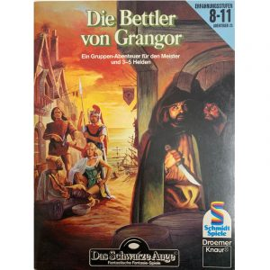 Das Schwarze Auge DSA Abenteuer 023 Die Bettler von Grangor DSA2 Gruppenabenteuer