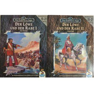 Das Schwarze Auge DSA Abenteuer 041 und 042 Der Löwe und der Rabe I und II DSA3 Gruppenabenteuer