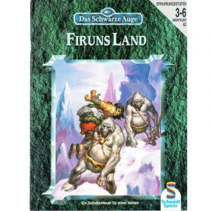 Das Schwarze Auge DSA Abenteuer 062 Firuns Land DSA3 Soloabenteuer