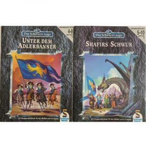 Das Schwarze Auge DSA Abenteuer 070 Unter dem Adlerbanner und 073 Shafirs Schwur DSA3 Gruppenabenteuer