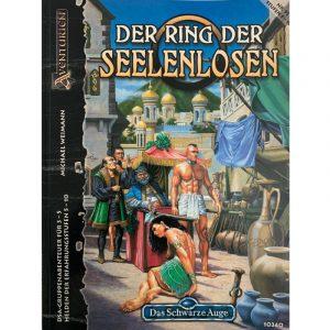 Das Schwarze Auge DSA Abenteuer 091 Der Ring der Seelenlosen DSA3 Gruppenabenteuer