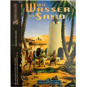 Das Schwarze Auge DSA Abenteuer 099 Wie Wasser im Sand DSA3 Soloabenteuer