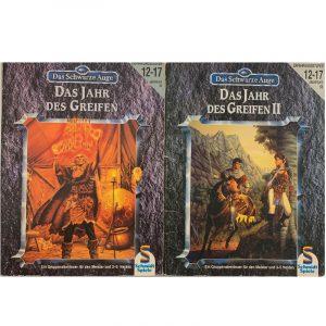 Das Schwarze Auge DSA Abenteuer 046 und 056 Das Jahr des Greifen I und II - Epische Orkkrieg-Kampagne